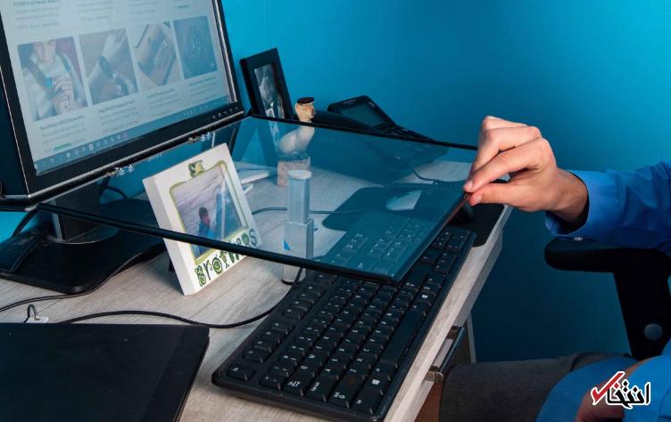 یک ایده عالی برای شکموهای اهل فناوری ، میز شیشه ای همه مسائل را حل می نماید