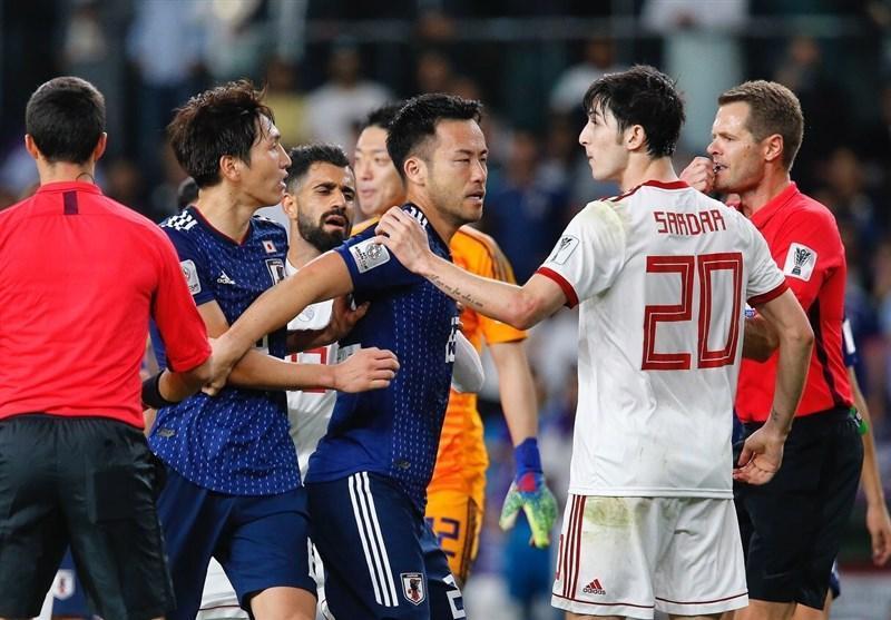 اندوه بازیکنان ایران و شادی ژاپنی ها؛ تقابل اشک و خنده در امارات