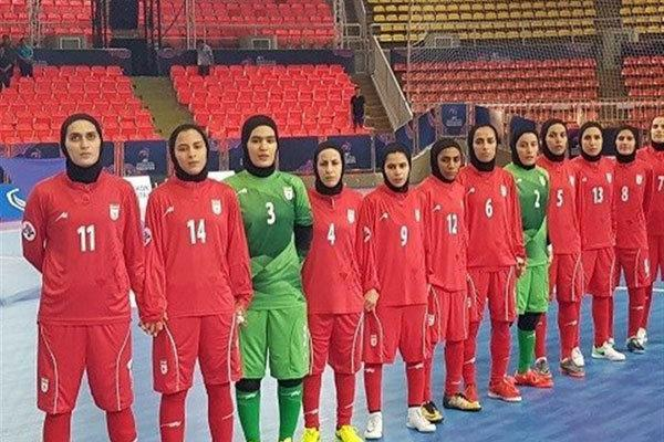صعود تیم ملی فوتسال بانوان به مرحله نیمه نهایی جام ملت های آسیا