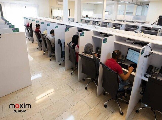 آغازبه کار بخش زبان ترکی و کردی در مرکز تماس ماکسیم