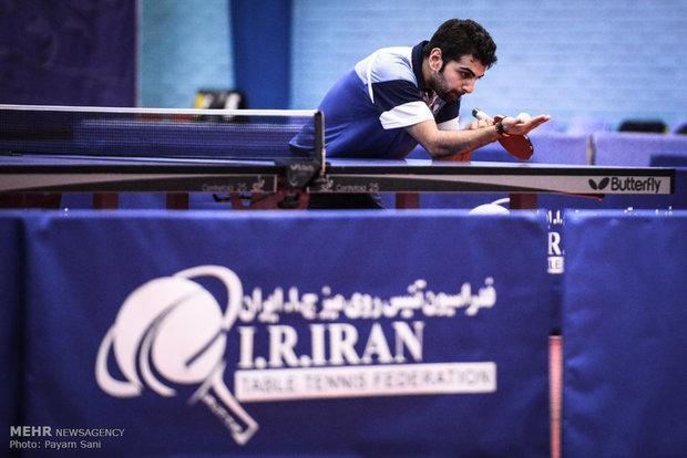پیروزی تیم ملی تنیس روی میز ایران در اولین دیدار جهانی