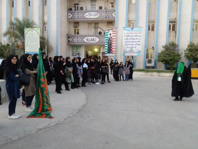 اجرای نمایش علمدار در بوشهر