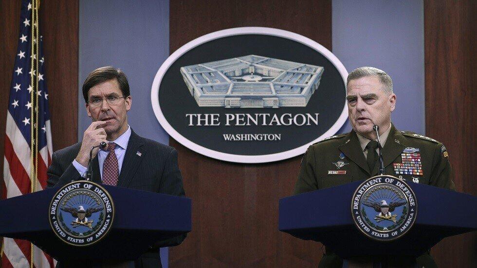پنتاگون در سوریه می ماند