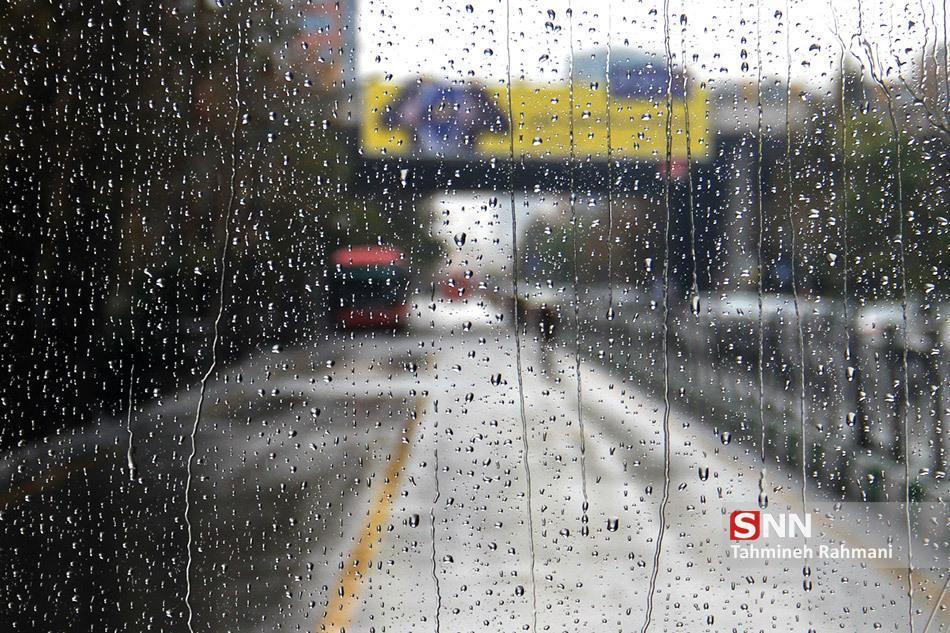 آغاز بارش باران در تهران از فردا شب