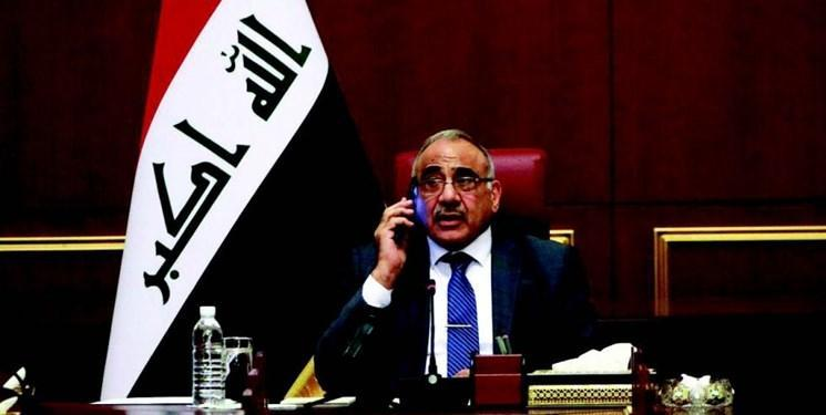 عبدالمهدی مخالفت شدید عراق را با حمله به مواضع الحشد به آمریکا ابلاغ کرد