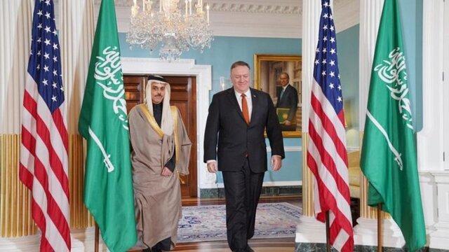 ملاقات پامپئو و وزیر خارجه عربستان و توافق نظر درباره یمن