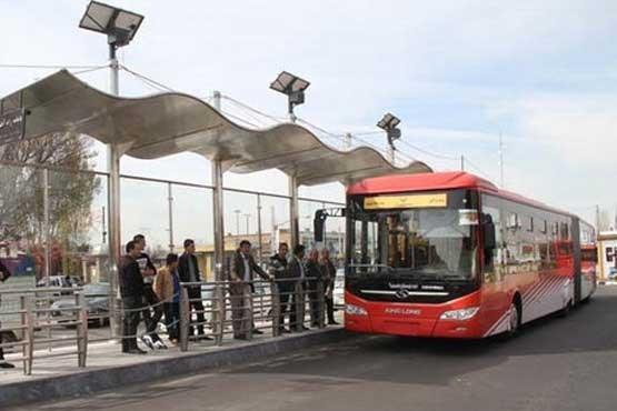 ضدعفونی کردن اتوبوس های تهران از امشب