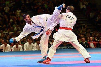 کوچ قهرمانان کاراته از کرمانشاه