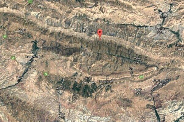 نقشه ماهواره ای شدت زلزله تهران منتشر شد