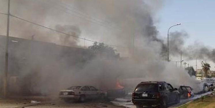 انفجار موتورسیکلت بمب گذاری شده و خودروی نیروهای ترکیه در سوریه