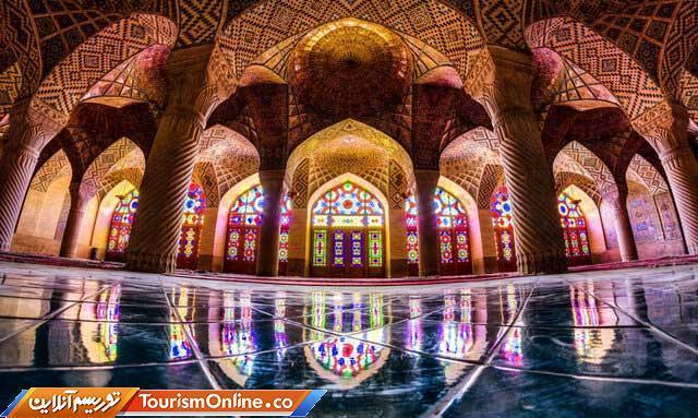 مسجد نصیرالملک در میان زیباترین مساجد دنیا