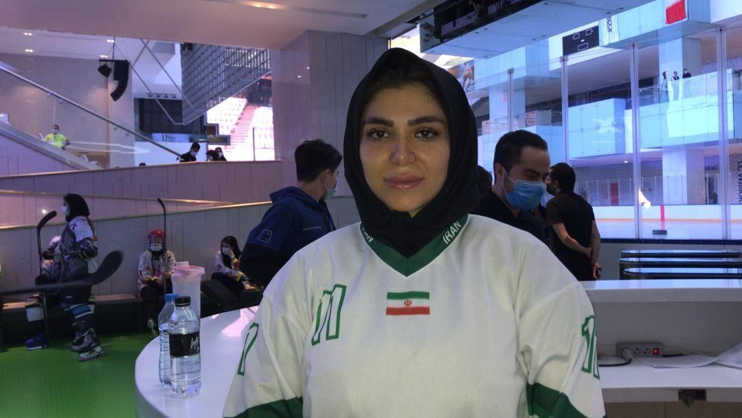 خبرنگاران مربی تیم جوانان: آینده ای درخشان در انتظار هاکی روی یخ ایران است