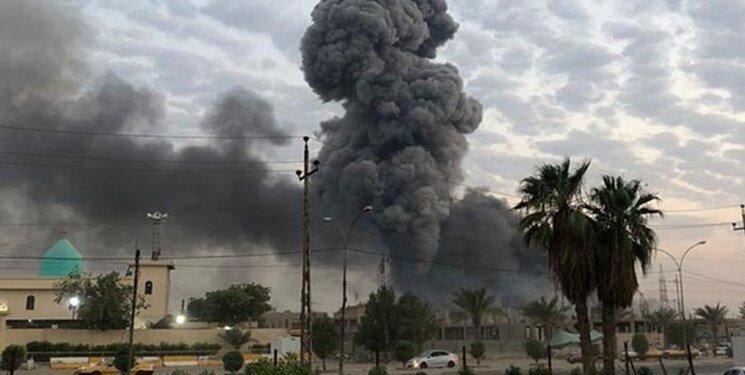 جنگنده های آمریکایی منطقه ای نزدیک به پایگاه الحشد الشعبی را بمباران کردند