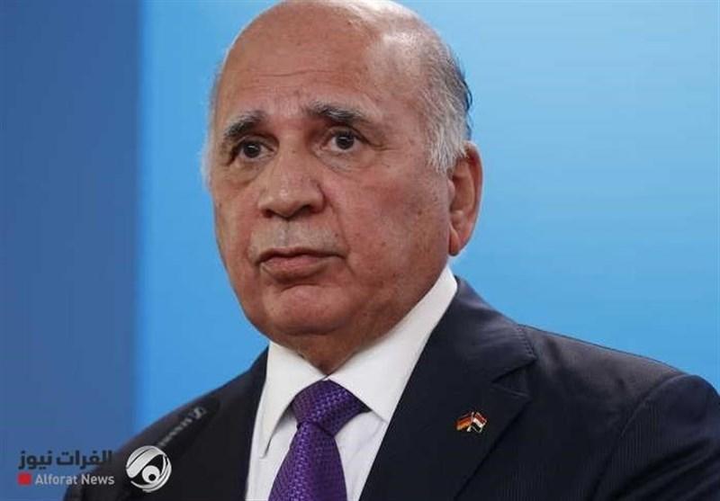عراق، فؤاد حسین: حل مسائل با همسایگان از راه مصاحبه، برگزاری نشست سه جانبه در قاهره
