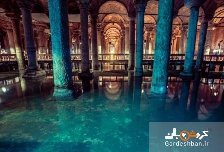 آب انبار باسیلیکا؛ جاذبه تاریخی و متفاوت استانبول، تصاویر