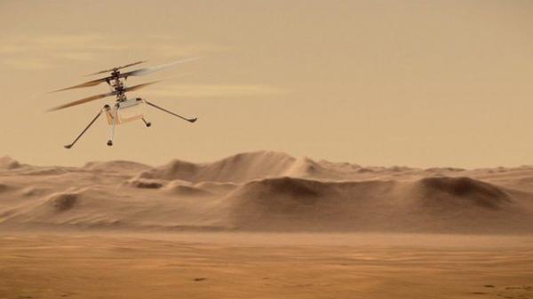 پرواز بالگرد ناسا در مریخ؟!