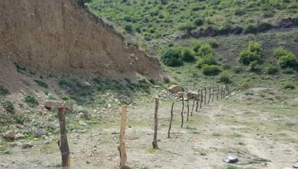 حصارکشی عرصه پایگاه تاریخی غار اسپهبد خورشید در مازندران