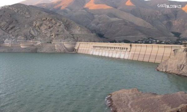کاهش 35 درصدی حجم آب سد یامچی